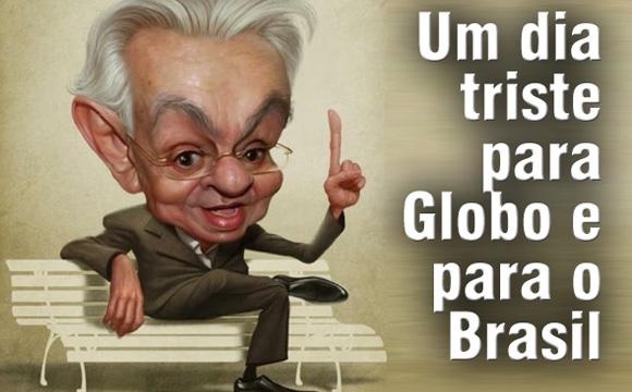 umdia triste pra globo e para o brasil